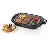 Salter EK2419 Multi Portion 5 in 1 Grill with Marble Effect Non-Stick Coating, 1500 W