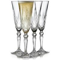 Lyngby Melodia Champagneglas 16 cl 4 stk