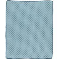 Småfolk Changing Pad Cover with Micro Apples Stone Blue
