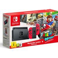 Nintendo Switch - Red - Super Mario Odyssey