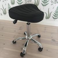 ErgoMax Curved ergonomisk pall, SVART