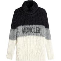 Moncler Pullover with Camel, Mohair and Wool