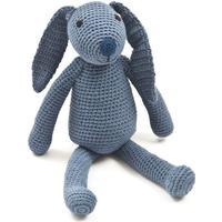 Smallstuff Hand Crocheted Animal Rabbit Denim