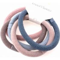 Everneed Soft Rubber Band 5 Pieces Pastel Colors 5237