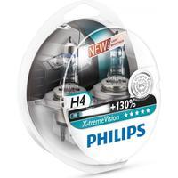 Philips H4 Xtreme Vision pærer +130% mere lys ( 2 stk)