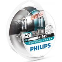 Philips H7 Xtreme Vision pærer +130% mere lys ( 2 stk)