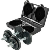 Gymstick Adjustable Dumbbell Set 2x10kg
