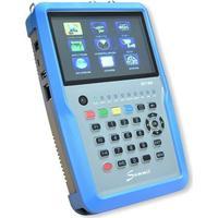 SUMMIT SCT 835 H.265 HD für DVB-S/S2/T/T2/C IPTV COMBO Satfinder mit Spektrum