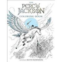 The Percy Jackson Coloring Book (Häftad, 2017)