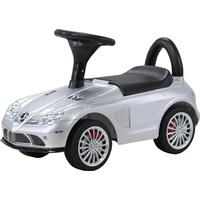 Mercedes SLR Gåbil (Bobby car) Silver Lackerad