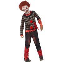 Zombie Clowndräkt Barn (Small (4-6 år))