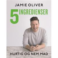 Jamie Oliver - 5 ingredienser - hurtig & nem mad, Hardback