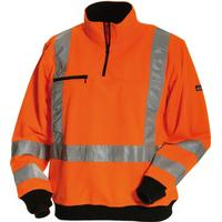 Tranemo workwear Sweatshirt CE-ME - M 50 orange