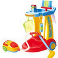 Playgo My Cleaning Trolley with Vacuum Cleaner