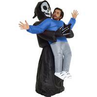 Morphsuit Pick Me Up Grim Reaper Uppblåsbar dräkt