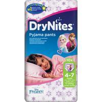 Huggies DryNites Size 4-7 Girl