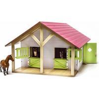 Kids Globe Stall med 2 Boxar och 1 Verkstad 610168