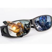 Passiva 3D-glasögon som passar med andra glasögon - RealD