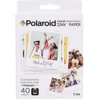 Polaroid Zinkpapper Polaroid POP 40er