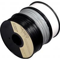 FrontierFila ABS 1kg svart/vit/grå 1.75mm FrontierFila filament för 3D-printer - Grå