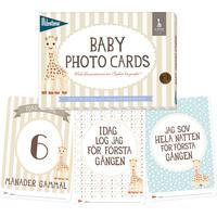 Milestone cards Milestone Baby Cards med Sophie La Girafe