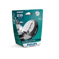 Philips D3S X-treme Vision + 150% Xenonpære, 1 stk.