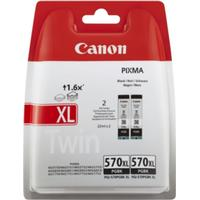 CANON Bläckpatron Svart Pigment twin pack 0318C007