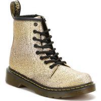 Dr Martens Dr. Martens Youth Gold Delaney Glitter Boots