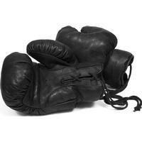 John Woodbridges 1920 tal Boxningshandskar Svart Läder