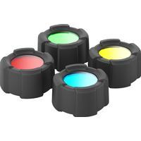 Led Lenser Color Filter Set 32.5mm sort 2018 Lampetilbehør