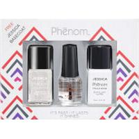 Jessica Nails Jessica Phenom Precious Metals Gift Set - White Opal (Worth £34.95)