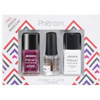 Jessica Nails Jessica Phenom Precious Metals Gift Set - Red Beryl (Worth £34.95)