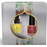Jessica Nails Jessica Phenomenal Indulgence Gift Set - Royal Red (Worth £16.35)