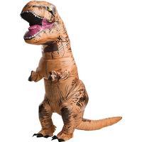 Rubies Uppblåsbar Vuxen T-Rex Dräkt