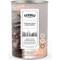 Tivoli Twister String Light udendørs copper adaptor - 5 m/50 lys