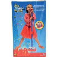 Simba My Music World Mikrofon med Stativ Singalong