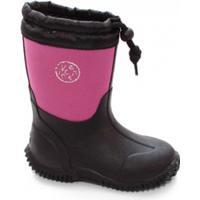 Vincent Shoes Algot Neoprene Boot Fuchsia/Black