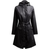Rains Curve Rain Jacket Black (1206)
