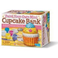 4M malesæt - Mal din egen cupcake-sparebøsse
