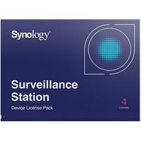 Synology Camera License Pack - Licens - 4 kameraer