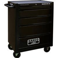 Bahco værkstedsvogn 6 skuffer incl. 215 dele værktøj 1470K6BKFF7SD