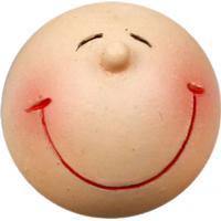 Ansikten med stort leende, dia. 20 mm, 25 st.