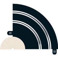 Scalextric Radius 1 Hairpin Curve 90° x 2 C8201