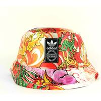 Adidas - Dragon Print Bucket Hat - Multicolored