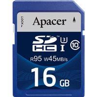 Apacer SDHC UHS-I U3 95/45 RAM-modul, Hukommelseskort