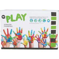 Martinex Play - Fingerfärg 6 färger