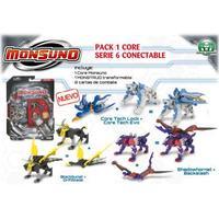 Giochi Preziosi Monsuno Starter Pack 1 Core-Serie 6 Conect