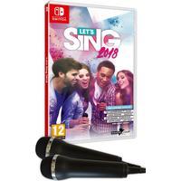Let's Sing 2018 - 2x mikrofoner