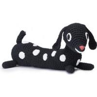 Littlephant Melody soft toy Puppy black