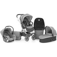 Babystyle Oyster 2 Special Edition Travel System - Black Handle / Wolf Grey
